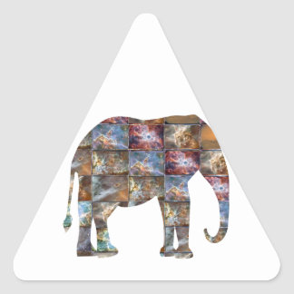 Animal amigável majestoso Azulejos de mármore do Adesivos Triângulo