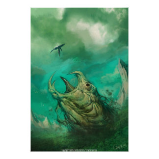 Animal assustador poster