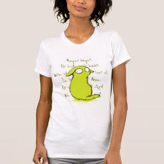 Animal pequeno do cabelo e rima de berçário tshirts