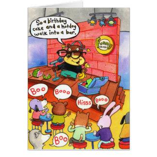 Aniversário 13 cartão comemorativo