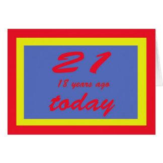 aniversário 39 cartão
