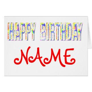 Aniversário Cartões