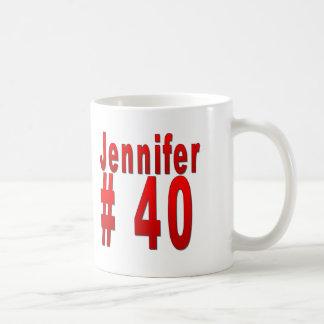 Aniversário de 40 anos de Jennifer Caneca De Café