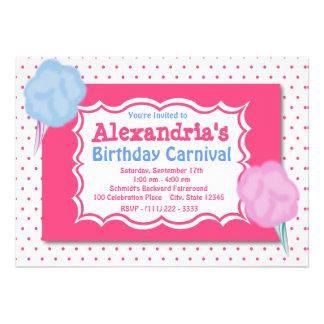 Aniversário do carnaval convites personalizados