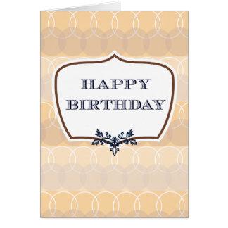 Aniversário estóico cartão comemorativo