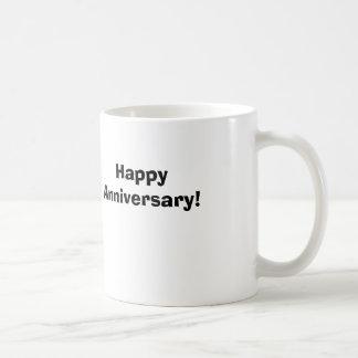Aniversário feliz! caneca de café