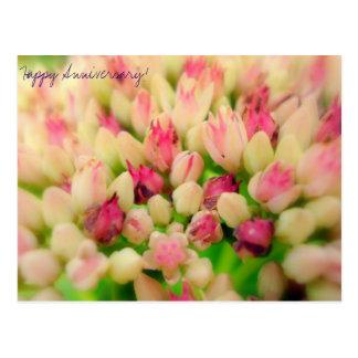 Aniversário feliz cartão postal