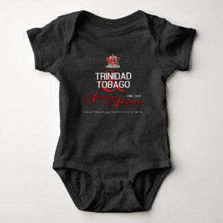 Aniversário feliz da independência T&T Body Para Bebê
