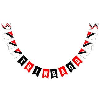 Aniversário feliz da independência TRINBAGO Bandeirinhas