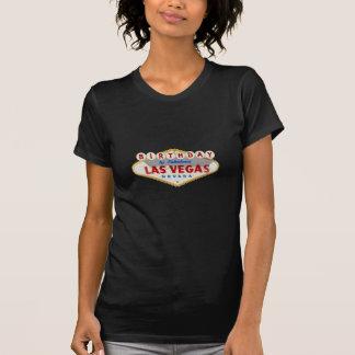 Aniversário na camisa fabulosa de Las Vegas