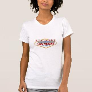 Aniversário na camisa fabulosa de Las Vegas Tshirt