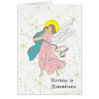 Aniversário no cartão da relembrança para a