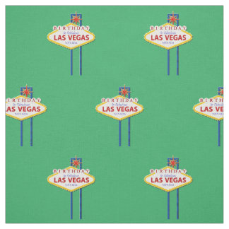 Aniversário no tecido de Las Vegas