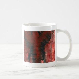 Anjo carmesim da dor caneca de café