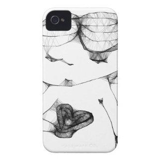Anjo com coração capa iPhone 4