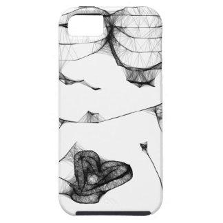 Anjo com coração capa de iPhone 5 Case-Mate