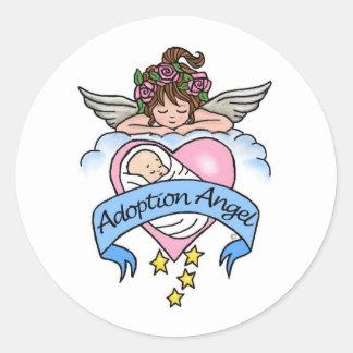Anjo da adopção do amor adesivo