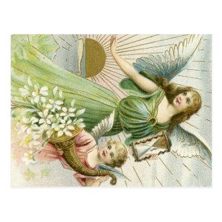 Anjo da guarda cartão postal
