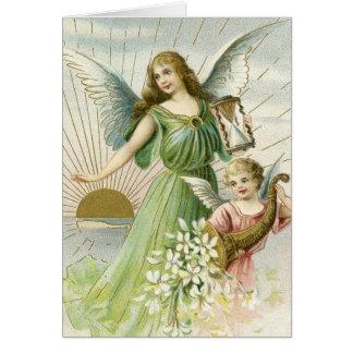Anjo da guarda cartoes