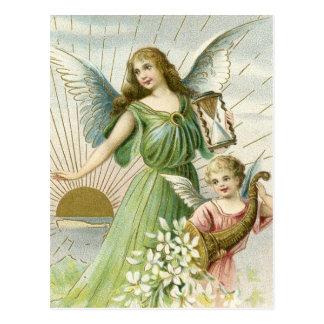Anjo da guarda cartoes postais