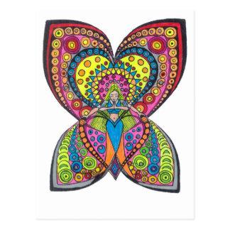 Anjo da harmonia cartão postal