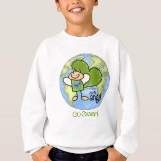 Anjo da terra - vai o verde t-shirts