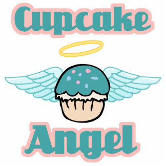 anjo do cupcake foto esculturas
