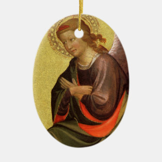 Anjo do renascimento pelo mestre do bebê Vispo Ornamento De Cerâmica