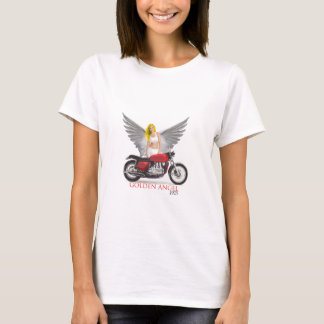 Anjo dourado camiseta