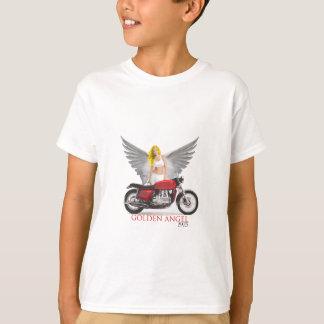 Anjo dourado camisetas