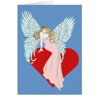 Anjo Faithless Cartão Comemorativo