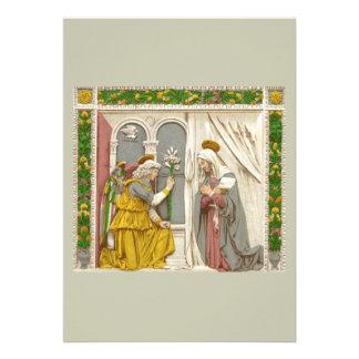 Anjo Gabriel o aviso a Mary
