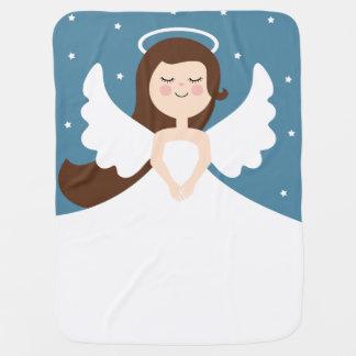 Anjo pequeno bonito manta de bebe