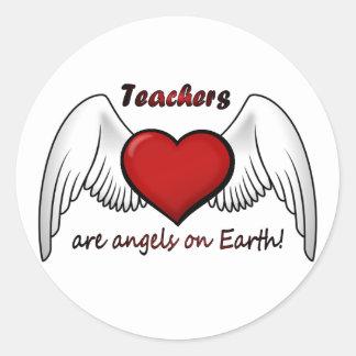Anjos dos professores adesivo