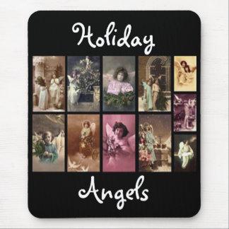 Anjos Mousepad do feriado - customizável