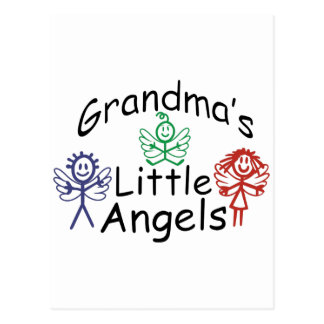 Anjos pequenos das avós cartão postal