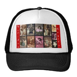 Anjos Red Hat II do feriado customizável Boné