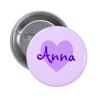 Anna no roxo bóton redondo 5.08cm
