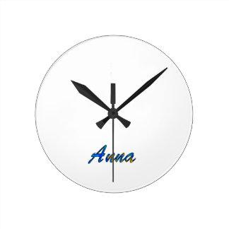 Anna Relógio De Parede