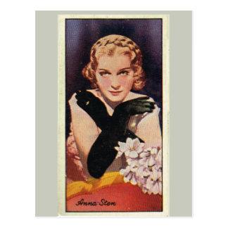 Anna Sten Cartão Postal