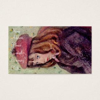 """""""Anne diz suas orações Cartão De Visitas"""