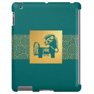Ano chinês do exemplo do iPad 2/3/4 do presente do Capa Para iPad