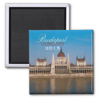 Ano da mudança do ímã da lembrança de Budapest Ímã Quadrado