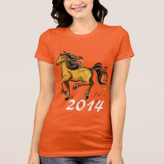 Ano do cavalo 2014 camiseta