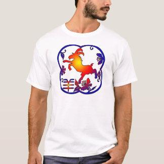 Ano do símbolo da cabra da ram dos carneiros camisetas