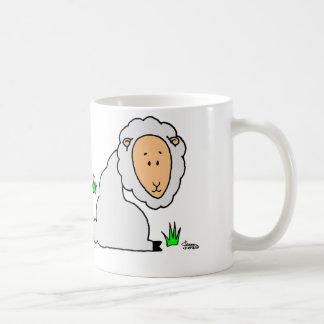 Ano dos carneiros caneca de café