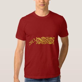 Ano novo chinês do cobra camisa de 2013 T T-shirt