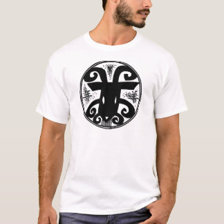 Ano novo chinês dos carneiros camiseta