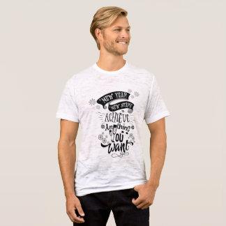 Ano novo - começo novo camiseta