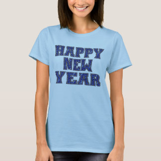 Ano novo feliz t-shirt